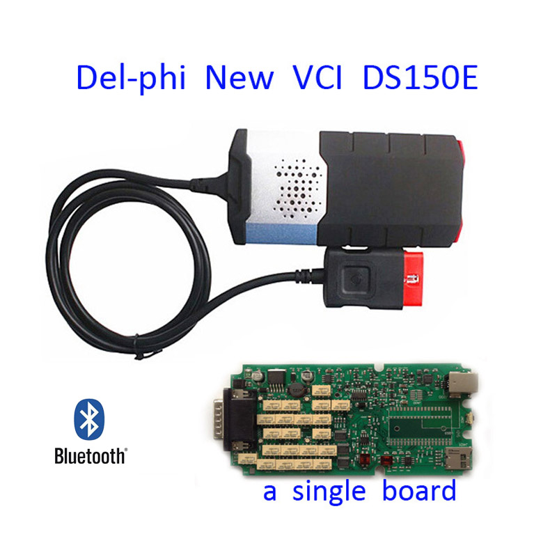 2015 Single Board V2014 R2 delphis DS150E without bluetooth TCS CDP plus autocom OBD2 Cars trucks