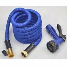 2016 Strong Expandable Magic Flexible Garden Hose inner rubber tube hose Blue(China (Mainland))