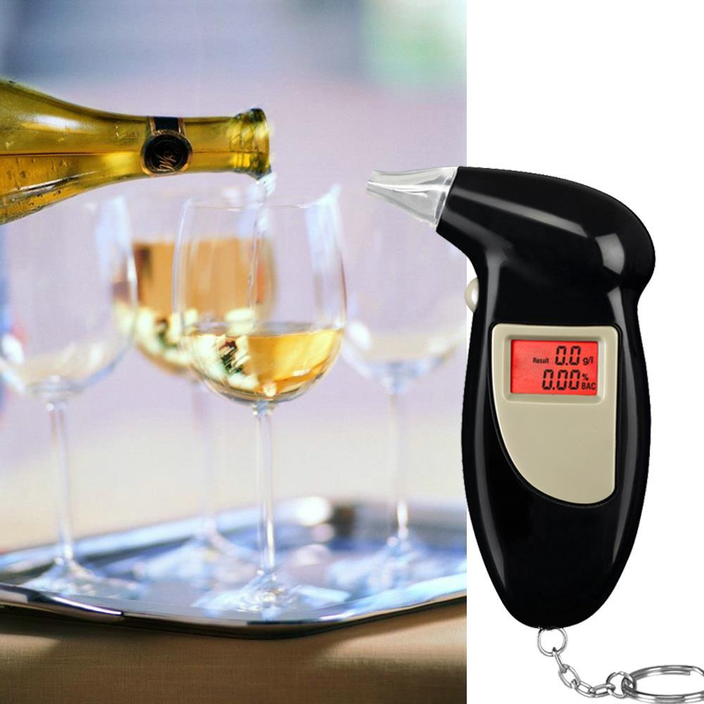 Free Shipping, Key Chain Alcohol Tester, Digital Breathalyzer, Alcohol Breath Analyze Tester (0.19% BAC Max) , Wholesale(China (Mainland))