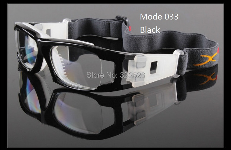 optical Aspherical 1.61 PC resin lens+frame; basketball tennis football soccer sports goggle nearsighted myopia eyewear(China (Mainland))