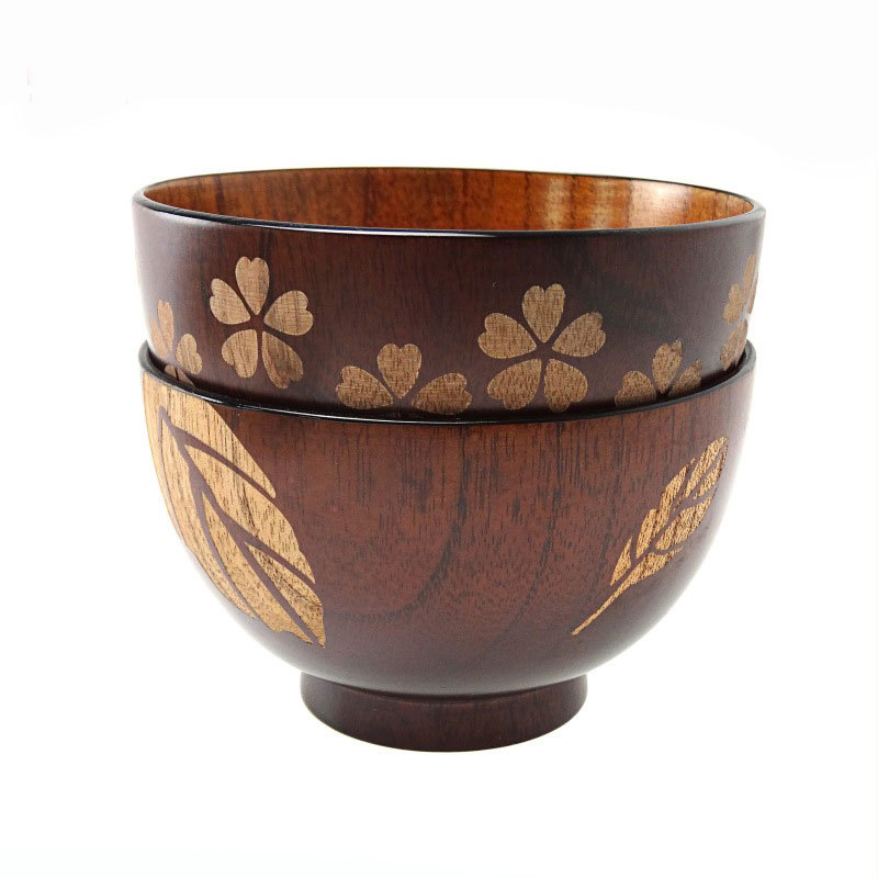 Japanese/Japan Style Handmade Wooden Rice Tijelas Kitchen Fruit Container Large Tazon Cooking Tools Big Salad Bowl Bowl For Cat(China (Mainland))