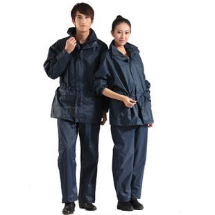 [Free Shipping] Motorcycle Electric Vehicles 810 Fashionable Men And Women Double Riding Split Raincoat Rain Pants Suit