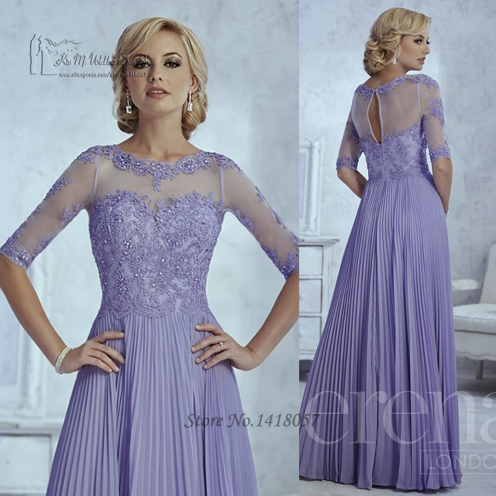 Amazing Plus Size Lace Mother Of The Bride Dresses Embellishment ...