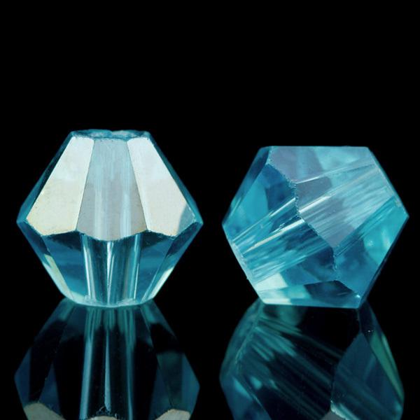 120 шт./лот 4 мм капри синий AB Bicone бусины, Кристалл бусины для ювелирных изделий DIY ожерелья и Bracelates CR0374-44 6 мм подсолнечника широкий bicone бусины 50 шт лот кристалл более 5 10
