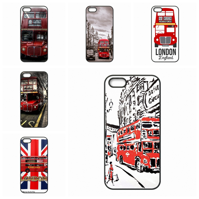 London Red Bus For Galaxy Core 4G Alpha Mega 2 6.3 Grand Prime S Advanced S6 edge Ace Nxt Plus Case Coque Cover(China (Mainland))