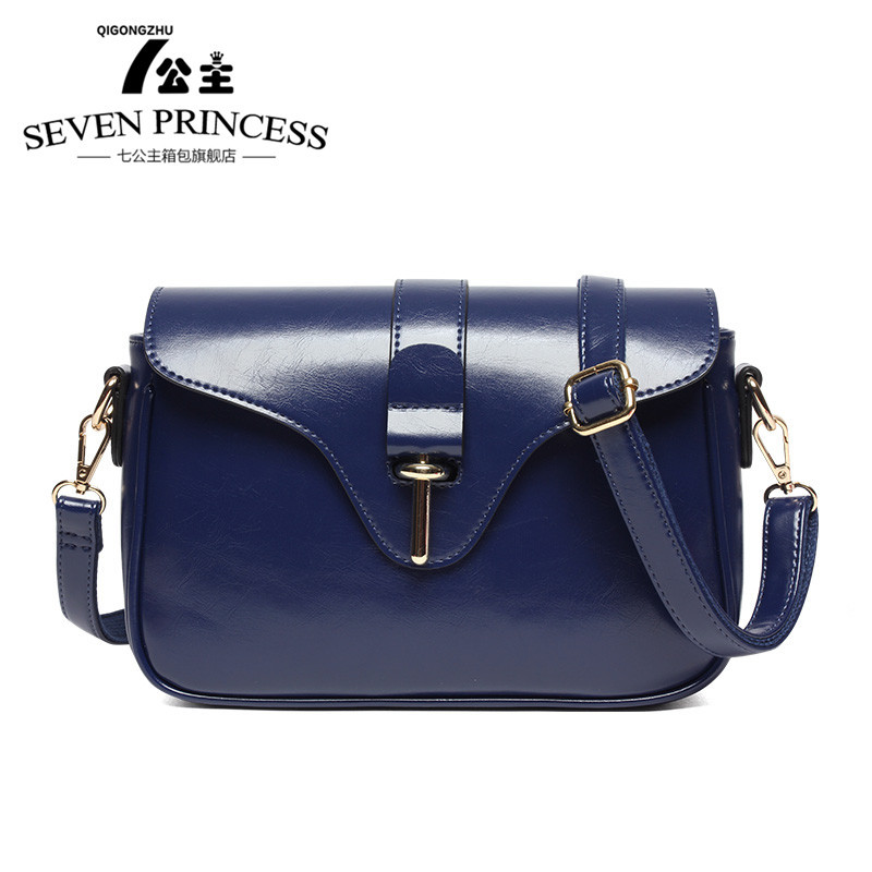 2015 Casual Bag Women Handbag Fashion Flap PU Leather Shoulder Bags Brief Dark Blue Red Wine Hand Bags(China (Mainland))