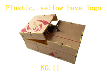 New 14 styles wooden useless box gags Joke toy leave me alone creative box funny machine toys birthday love gift(China (Mainland))