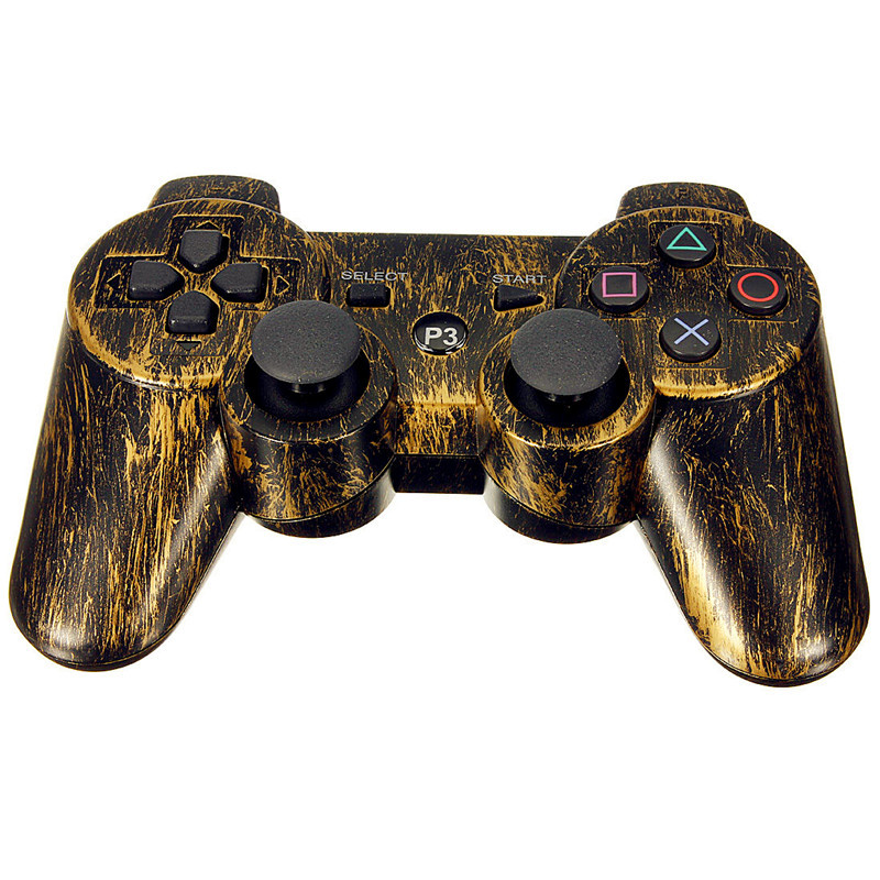 Wireless Bluetooth Bronze Game Pad Controller Joypad for Sony for PS3 PlayStation 3(China (Mainland))
