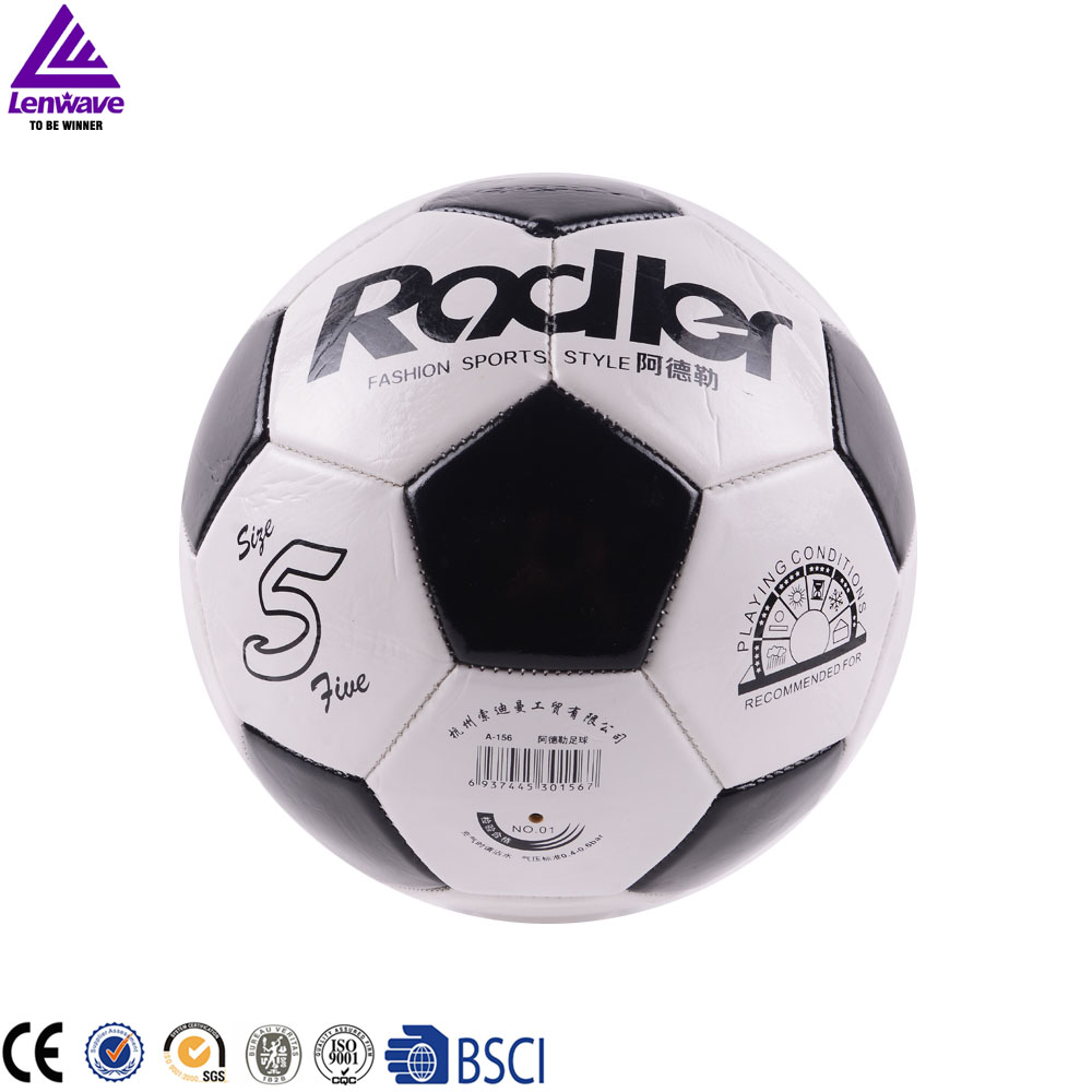 Children Teenager Men Football Soccer Ball Size 5 Football Training Playing Game Competition PVC Balls(China (Mainland))