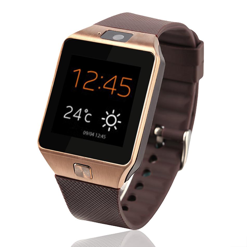 2016 водонепроницаемый Bluetooth 3.0 GSM NFC мини-камера наручные часы SIM карты Smartwatch для Samsung Android телефон 58