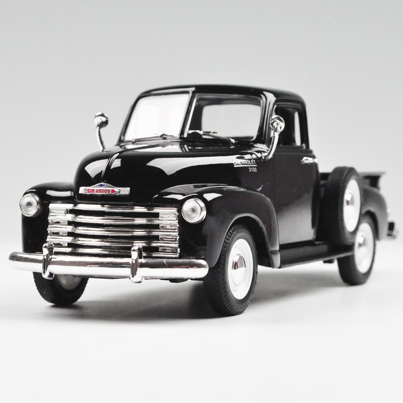 Brand New WELLY 1/24 Scale Car Model Toys Classical 1953 Corvette Pickup Diecast Metal Car Toy For Collection/Gift(China (Mainland))