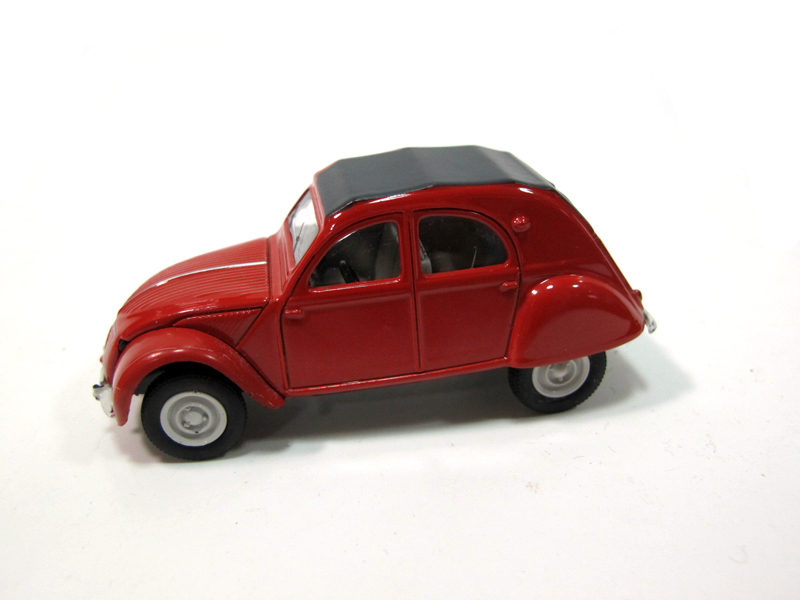 NOREV 1:6 four alloy automotive mannequin CITROEN 2 CV CITROEN automotive mannequin automotive