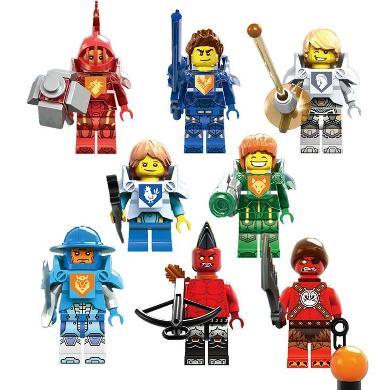 SY Nexo Knights Marvel Building Blocks Kits Brick Model Toys Minifigures Compatible Legoe Nexus  -  Cy Super Toys store