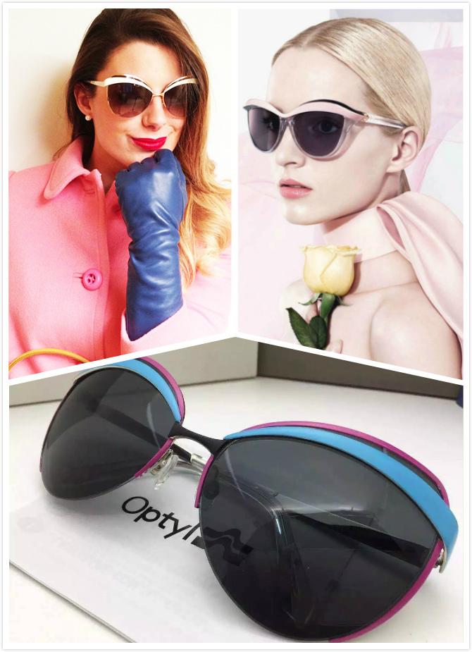 2015 Original France Brand Designer Women CD Sunglasses EYES1 Retro Sunglasses Ladies Sun glasses with Original Case and LOGO(China (Mainland))