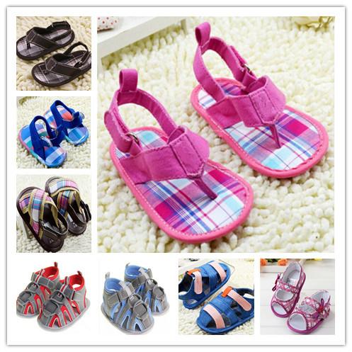 Мальчики девушка младенца дети сандалии новорожденный малыш обуви бесплатная доставка