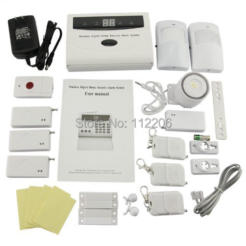 security store tm basic s02 wireless home security alarm