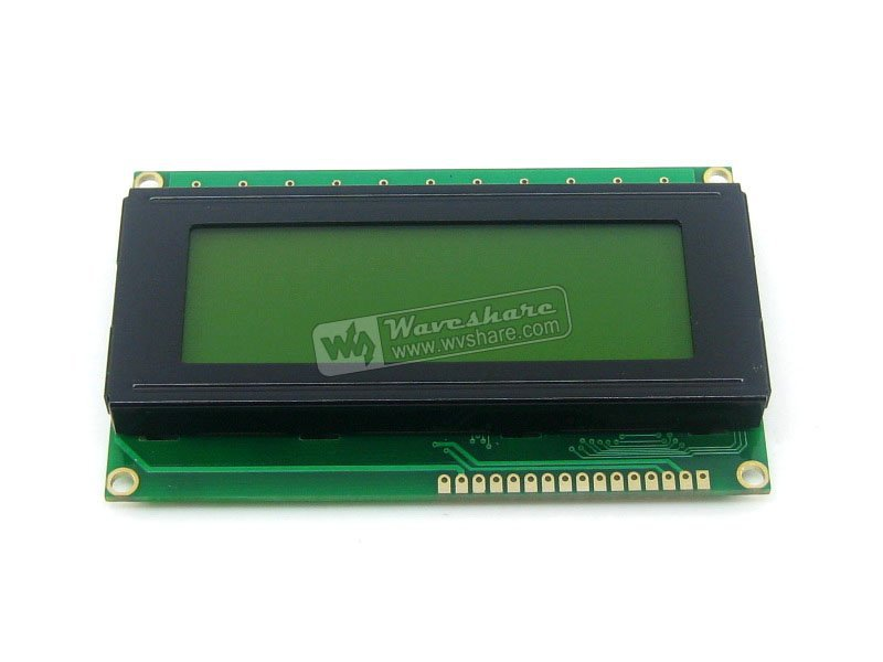 204 20X4 20*4 2004 Character LCD Module LCM Display TN/STN Yellow Backlight Black Character 5V Logic Circuit HD44780 Compatible(China (Mainland))