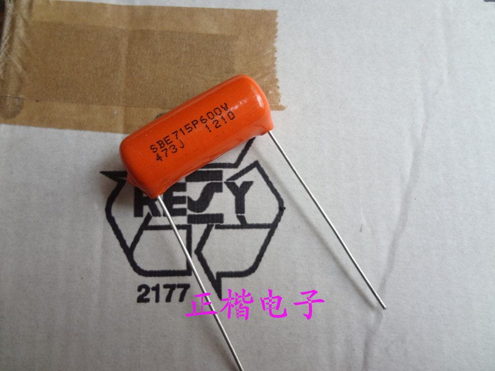 Imported U.S. Sibi SPRAGUE SBE715P Series fever film capacitors 600V0.047UF (473)Certain discount is given on large order(China (Mainland))
