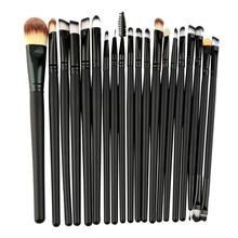 Buy 20 Pcs/set Soft Makeup Brushes Set Kit Powder Foundation Brush Eyeshadow Eyeliner Lip Brush Cosmetic Make Brushes Set for $3.72 in AliExpress store