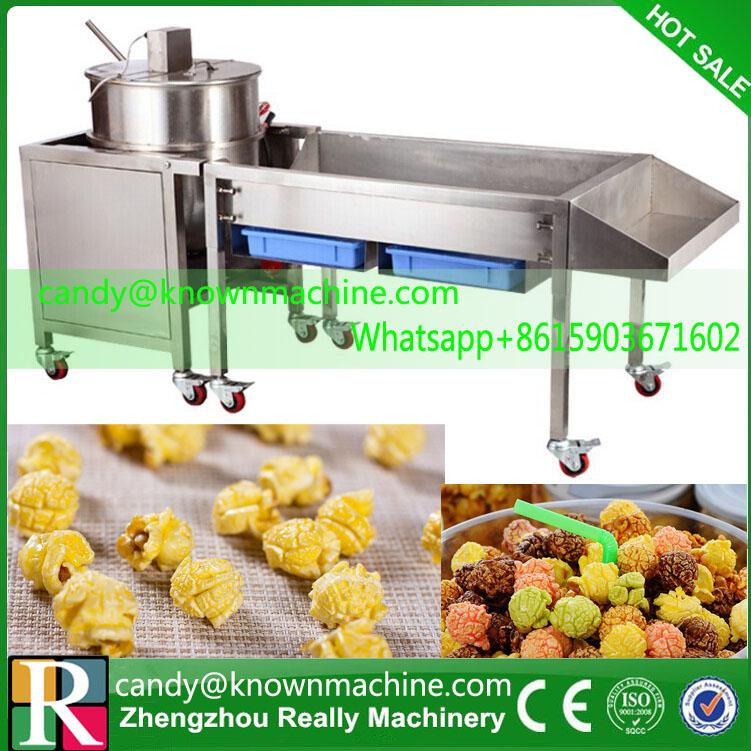 Automática máquina de las palomitas, máquina de palomitas de gas(China (Mainland))
