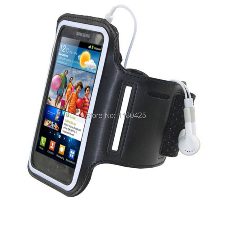New Ventilate Nylon Running Sport Armband For Galaxy S5 i9600 S3 S4 Protective Mobile Phone Arm Band for iPhone 4 4S 5 5S