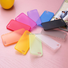 0.29mm Ultra thin matte Case cover skin for iPhone 5 5S Translucent slim Soft plastic Free Shipping Cellphone Phone case(China (Mainland))