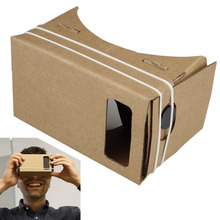 ULTRA CLEAR Google Cardboard Valencia Quality 3D VR Virtual Reality Glasses for for 5.7″ Mobile Phone Google VR 3D Glasses