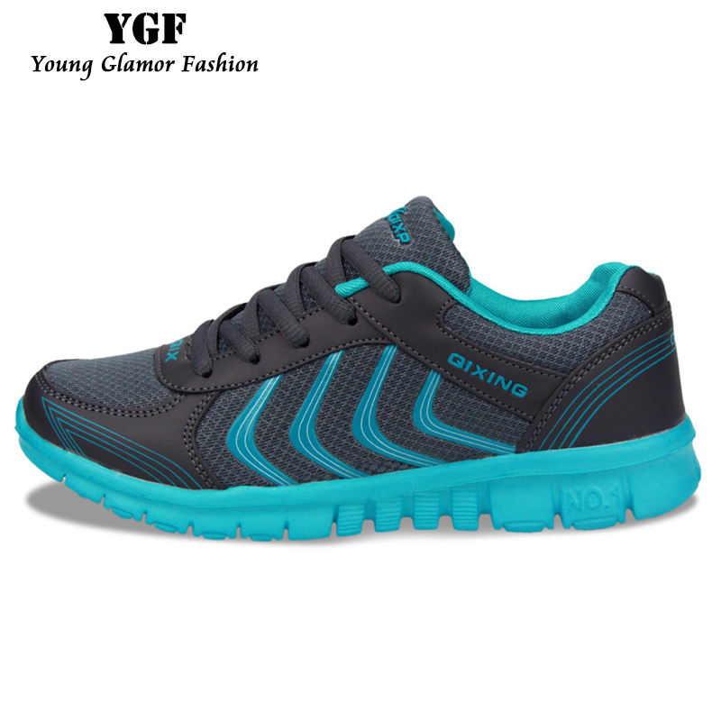 Women Men Shoes Breathable Casual Walking Shoes 2016 Fashion Flat with Lightweight Mesh Net Shoes tenis Trainers for Unisex(China (Mainland))