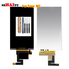 Good Working Good LCD Display For Sony Xperia M2 Aqua LTE D2403 D2406 Parts Replacement Panel Tested Digitizer(China (Mainland))