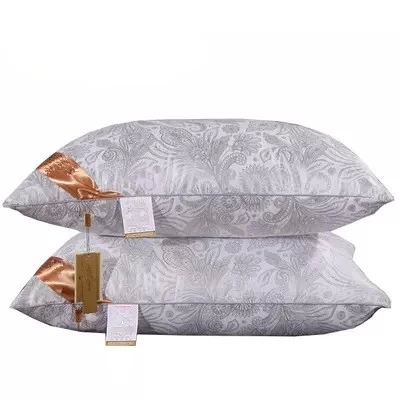 bedclothes bedding sets two seat pillow silk almohada neck pillows bed oreiller Rectangle body cushion Double