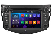 The Latset Quad-core Pure Android 4.4 Car GPS DVD Player Headunt For TOYOTA RAV4 2008-2011 WIFI 3G(China (Mainland))