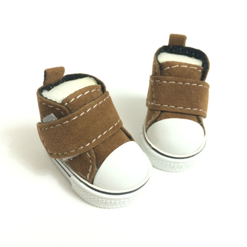 5 CM Mini Toy Shoes Casual BJD Snickers Shoes for Tilda Dolls,1/6 BJD Doll Shoes Toy Boots,Fashion Dolls Accessories 12 Pair/Lot(China (Mainland))