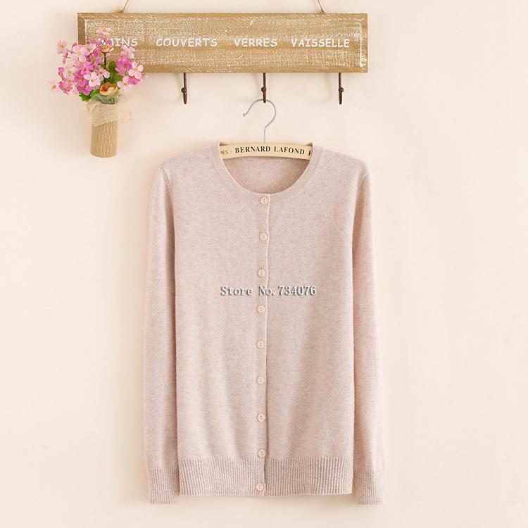 2014 new autumn and winter women cardigan sweater 2014 women fashion 100% cashmere sweater knitted warm cardigan
