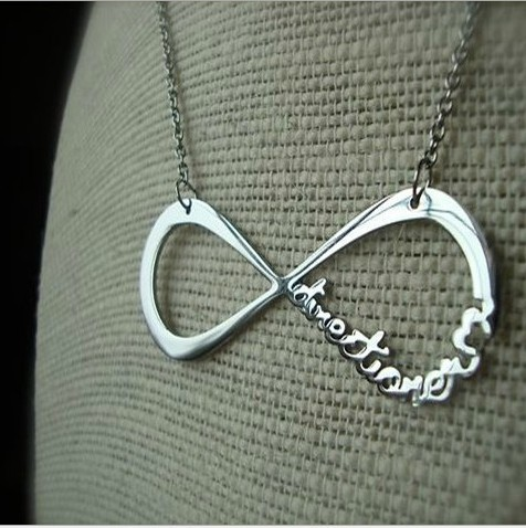 2014 N243 new dsign jewlery one direction and infinity symbol pandent necklace free shipping