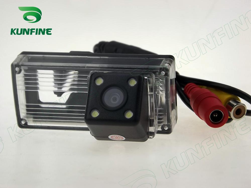 Free shipping! HD Rear View for Skoda Sharp/Fabia CCD night vision car reverse camera license plate light camera KF-V1100(China (Mainland))