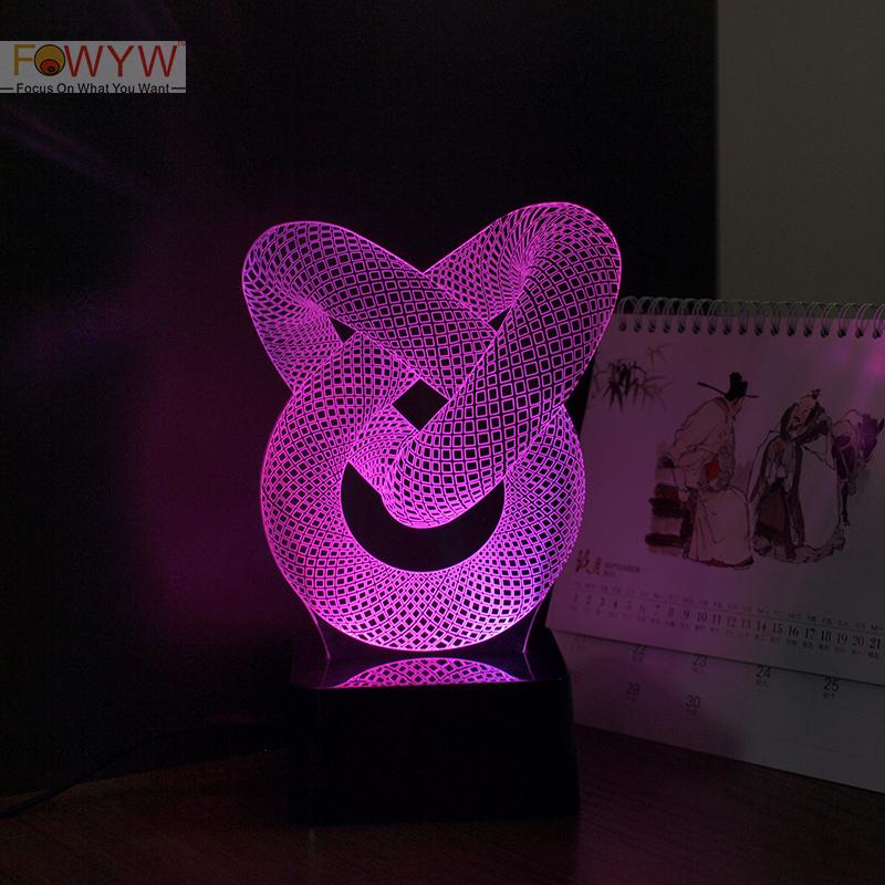 Pipe 3D Night Light<br><br>Aliexpress