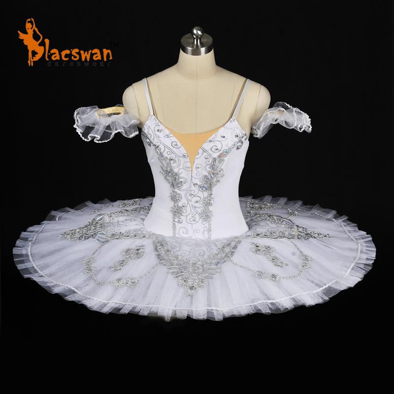Snow Queen White Professional Ballet Tutu B635 Sleeping Beauty Pink Classical Sugar Plum Fairy Blue Princess Florina - Guangzhou Blacswan Dance & Activewear Co., Ltd. store