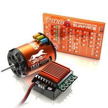 SKyRC Cheetah 1/10 CS60 60A Sensored ESC + Cheetah 1600-4000KV/2P Brushless Motor Program Card Combo Free shipping