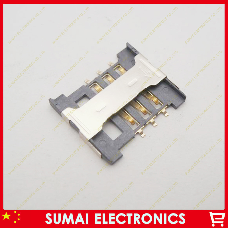 20pcs New SIM card reader holder tray for Lenovo A288t A336 A298T Redmi