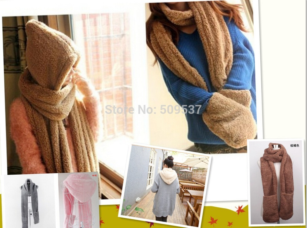 For men and women Winter Brand Fashion Fur Hats For Hat Scarf Gloves Triad Hat And Scarf Set for men and women(China (Mainland))