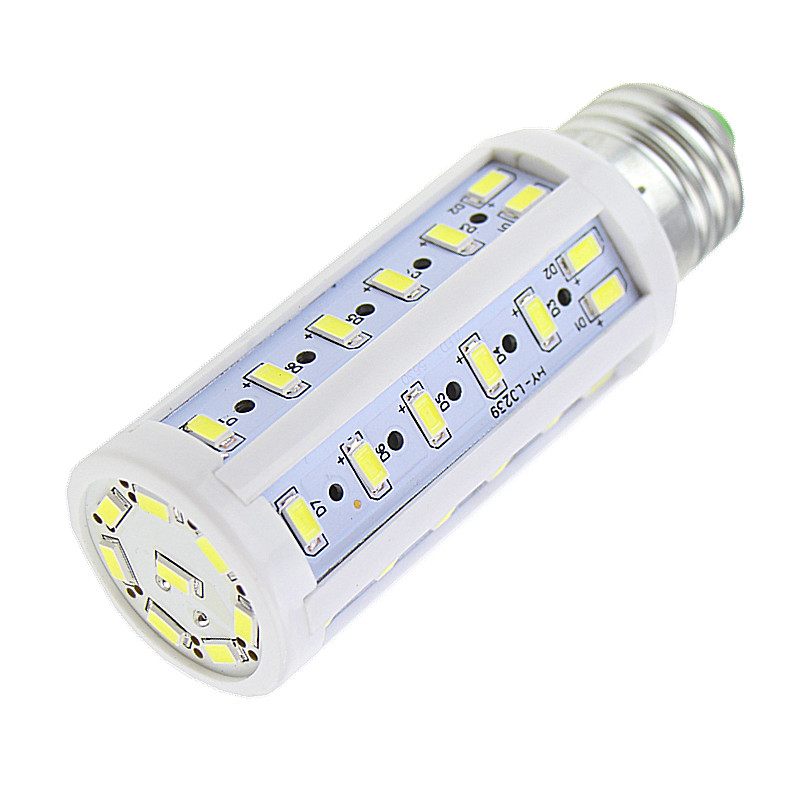 Lampada 1pcs/lot E27 E14 B22 50 epistar SMD 5730 15W led lamp 110V/220V ultra bright solar ...