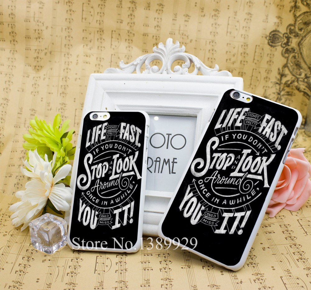 Trendy Hipster Phone Cases Hard Skin White Case for iPhone 6 6s plus 4 5(China (Mainland))