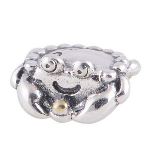925 серебряные ювелирные изделия краб винтовые основные бусины женщин DIY мода ювелирных изделий подходит пандора змея подвески браслеты и ожерелья