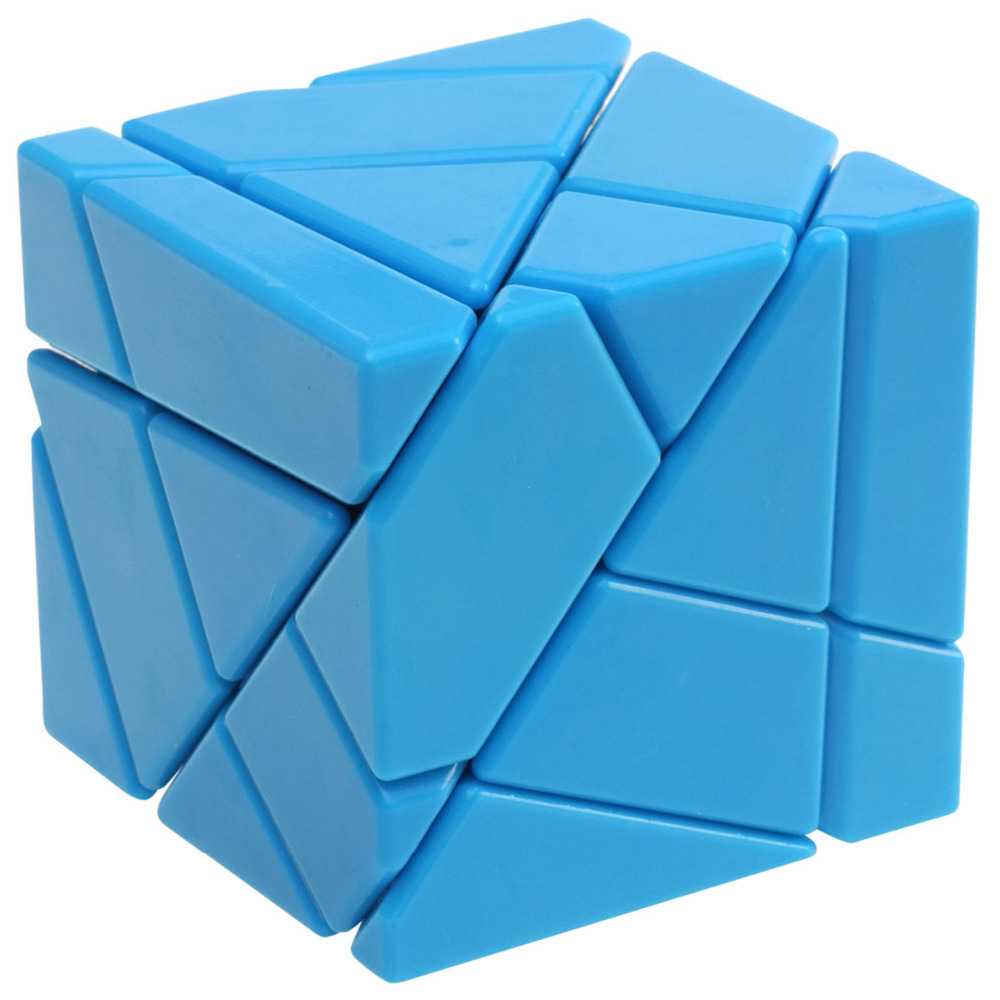 2016 Hot New Professional FangCun Ghost without stickering Magic Cubes Speed Cube Toys for Kids Gift Black Blue Pink Yellow -50(China (Mainland))