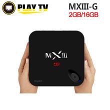 [Genuine] MXIII-G Amlogic S812 Cortex-A9 Andorid 5.1 TV BOX Quad-core 1000M LAN 2GB/16GB 2.4GHz WiFi BT4.0 H.265 MXIII G MX3(China (Mainland))