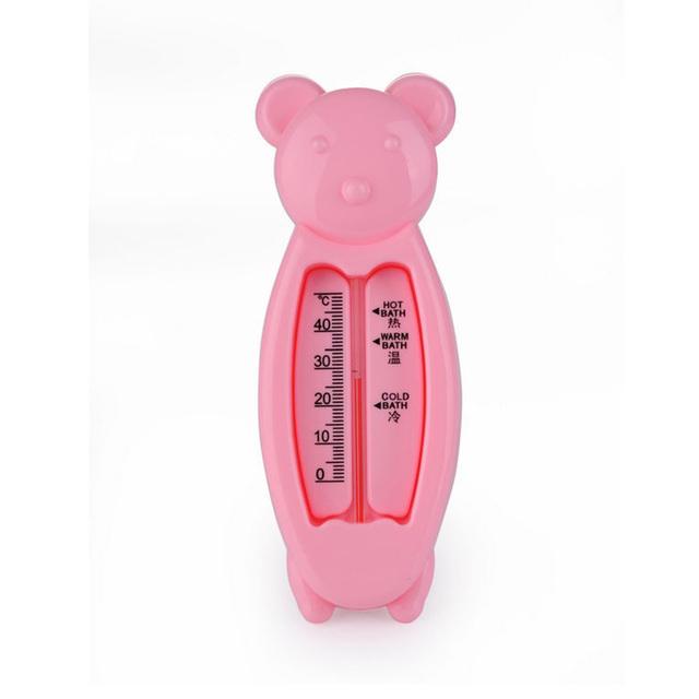Плавающие симпатичный медведь воды термометр поплавок детские игрушки ванны термометр ...