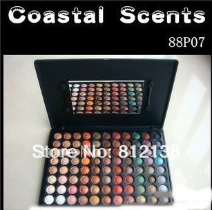 FREE SHIPPING, Pro 88 P07 color Mirage make up eyeshadow palette , Coastal Scents, HS-A263(China (Mainland))