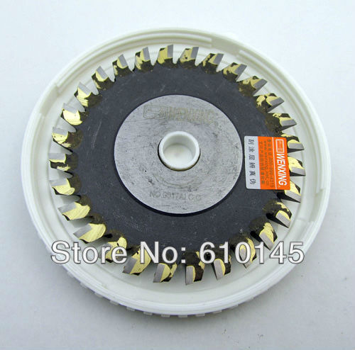 NO:0017AI.C.C  titanizing 80*6*12.7mm tungsten wenxing blade cutter for 100G