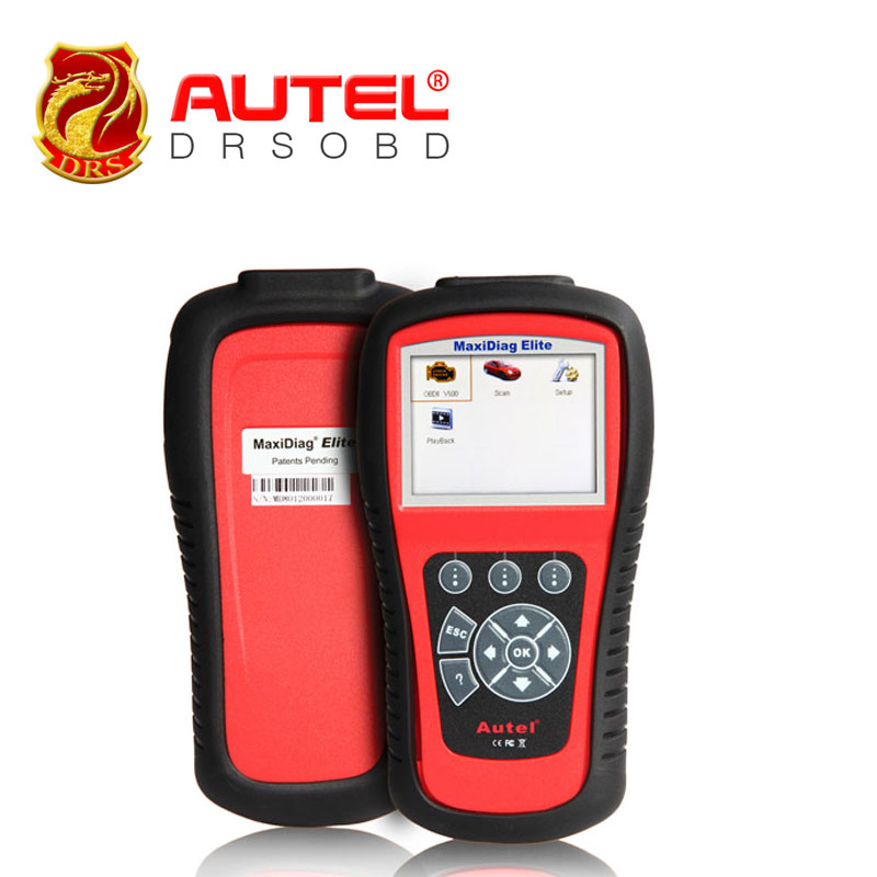 Autel MaxiDiag Elite MD703 OBD II Auto Code scanner ALL systems + DS Model + EPB + OLS diagnostic for US cars MD 703(China (Mainland))