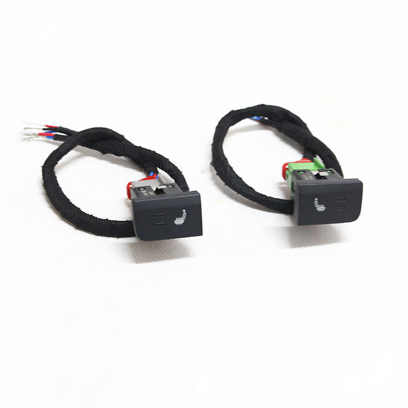 Seat Heater button heating Switch Control with Harness For Volkswagen POLO 6R 6C 2011-2013 6RD 963 563+ 6RD 963 564<br><br>Aliexpress